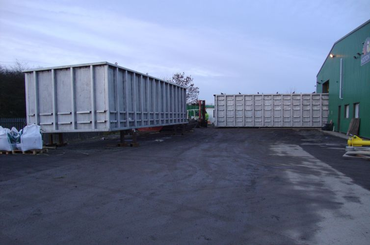 Stainless steel filtration tanks for sewage plant